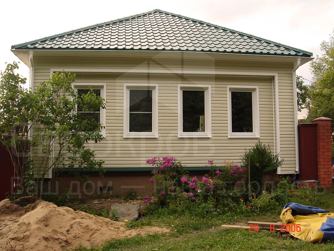 Сайдинг фото деревенского дома